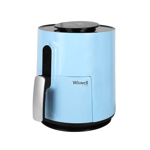 위즈웰 디지털 에어프라이어 WH8230 스카이블루