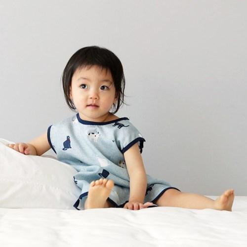 스칸디콜렉션 풍기인견 아기 여름 수면조끼