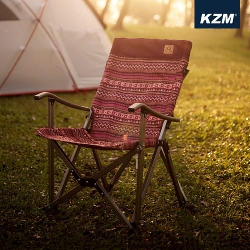 카즈미 럭셔리 미니 릴렉스체어 1+1 / 접이식 캠핑의자 낚시의자