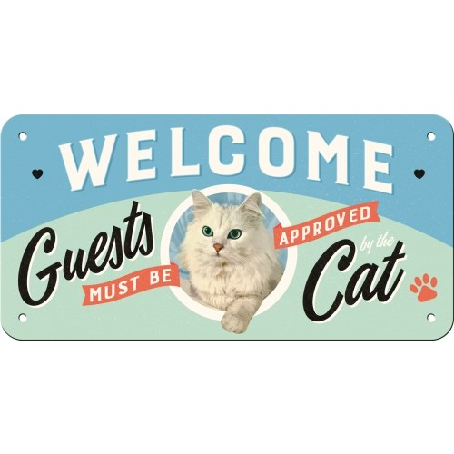 노스텔직아트[28027] Welcome Guests Cat