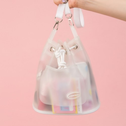 [텐바이텐 단독] ALMOSTBLUE MILK SODA 2WAY BUCKET BAG