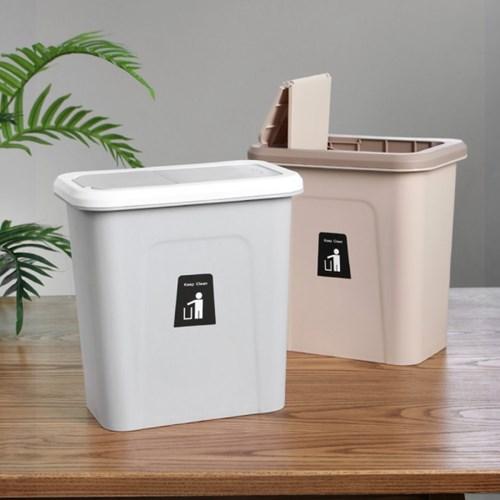 주방 걸이식 싱크대 휴지통 2color 음식물쓰레기통