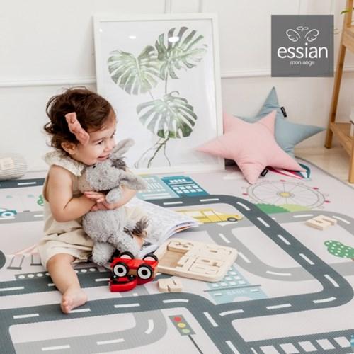에시앙 3D 에어메쉬 도로매트 놀이매트 (사각/S size)_(825243)