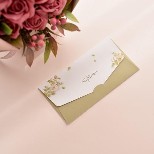 코랄핑크빛의 장미비누꽃다발(용돈봉투 포함)