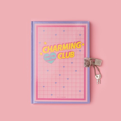 [텐바이텐 단독] HELLO KITTY CHARMING CLUB Secret Diary