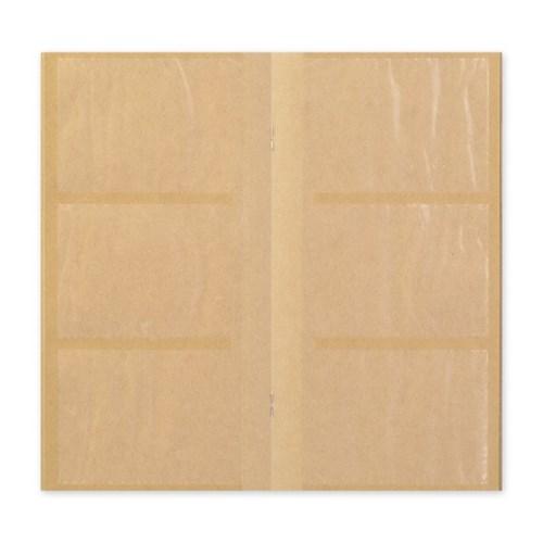트래블러스노트 리필 - 카드파일