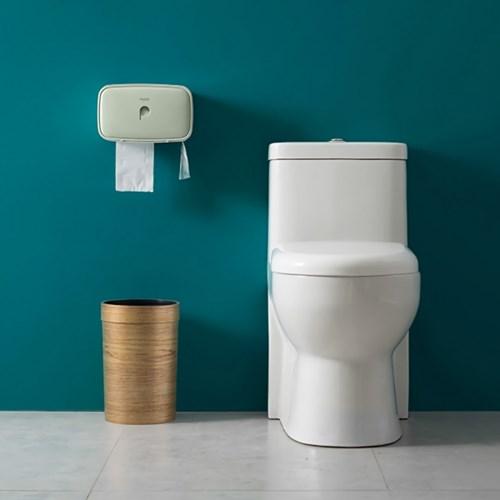 강력부착 욕실선반 휴지걸이 2color