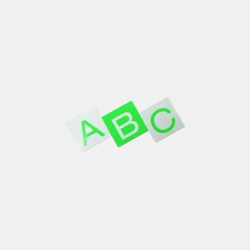 Alphabet Sticker 알파벳 스티커 (네온)