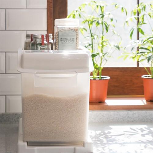 프랑코 슬라이딩 쌀통(대) 25kg_(826719)