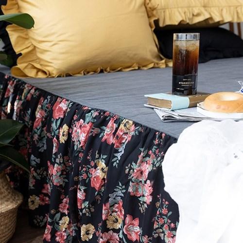블랙마드모아젤 3size 매트리스스커트 침대스커트