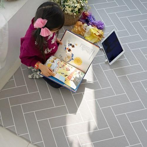 양면 PVC 헤링본 놀이방매트 층간소음방지