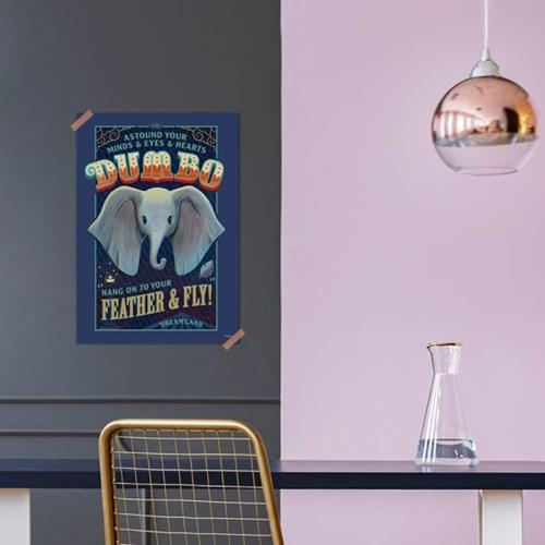 디즈니 인테리어 포스터 - 덤보 4종
