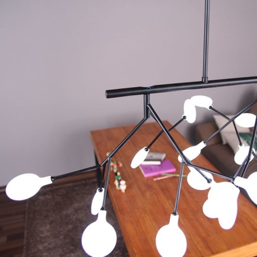 boaz 벗꽃27등(LED) 팬던트 고급 카페 인테리어 조명