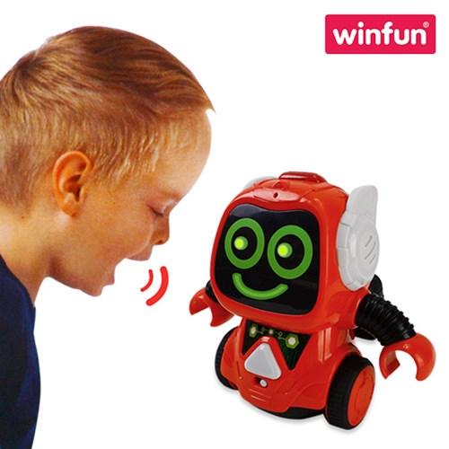 말하면 따라하는 음성변조 무선로봇