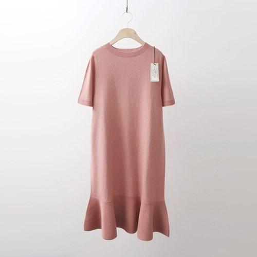 Hoega Linen Flare Dress - 반팔