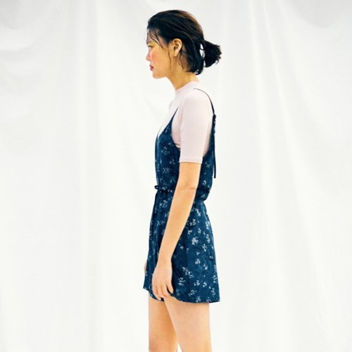 [Slip Jumpsuit] Berry - Navy