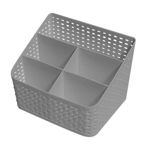 오피스 수납정리 라탄스타일 데스크 오거나이저 PLAIT_(1033399)