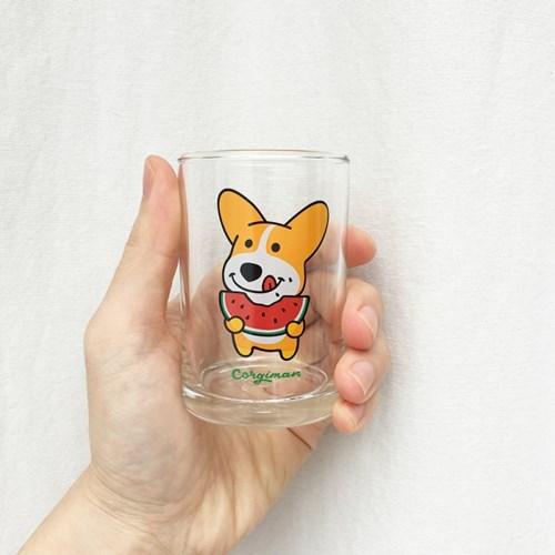수박코기 유리컵
