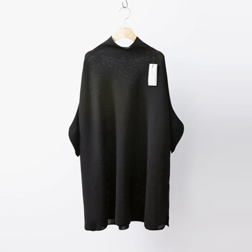 Hoega Linen Poncho Knit Dress