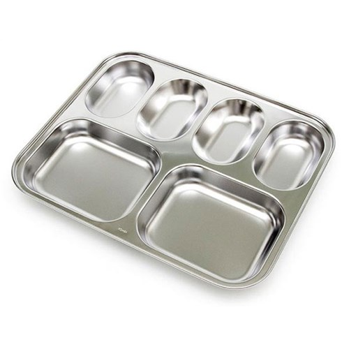 스텐 깊은 다이어트 가정용 초등학생 식판 유아식판