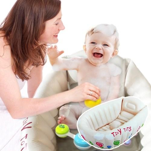 베이비 아기욕조 휴대용 출산선물