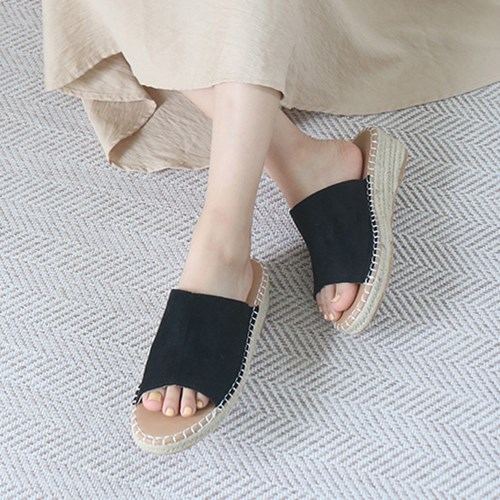 kami et muse 5cm middle wedge espadrille mule_KM19s264