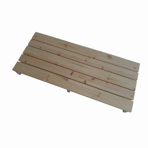 삼나무 원목 발받침대 더블