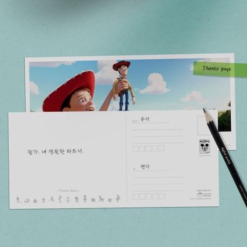 디즈니 토이스토리4 엽서 세트 9종