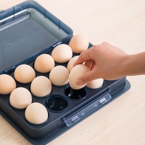 유통기한 체크 계란보관함 15구