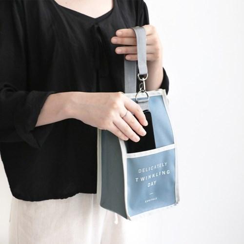 코니테일 슬링 파우치 - 블랙 (기저귀파우치 유모차정리함 가방)