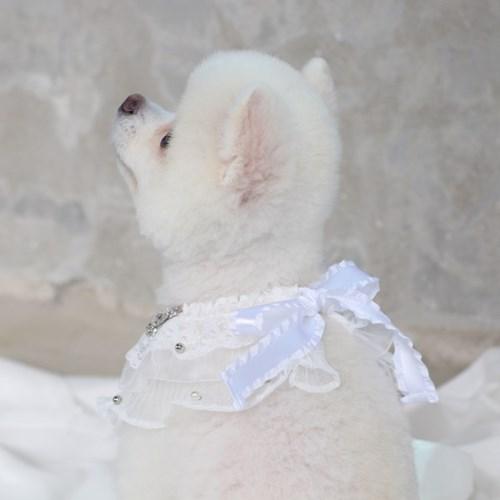 에덴숑-Bebe cape - White(베베 케이프)