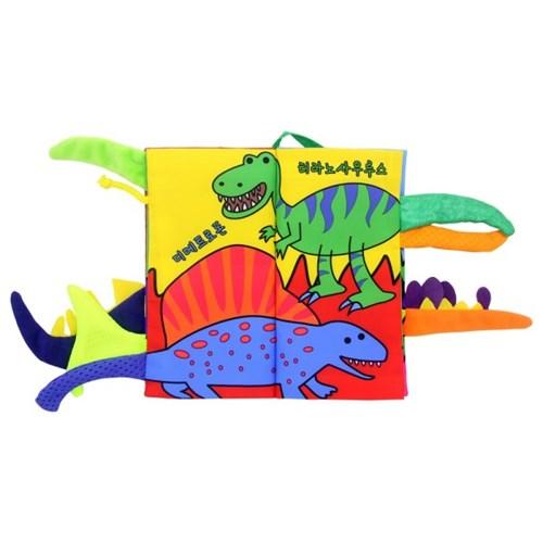 도도코 우리말 꼬리헝겊책 아기 바스락 촉감책 공룡 꼬리