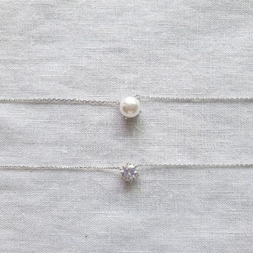 Baroque Pearl Necklace - Silver925