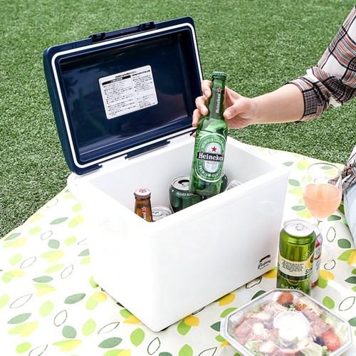 12L 휴대 아이스 쿨러박스+원피스 선풍기_(1050625)