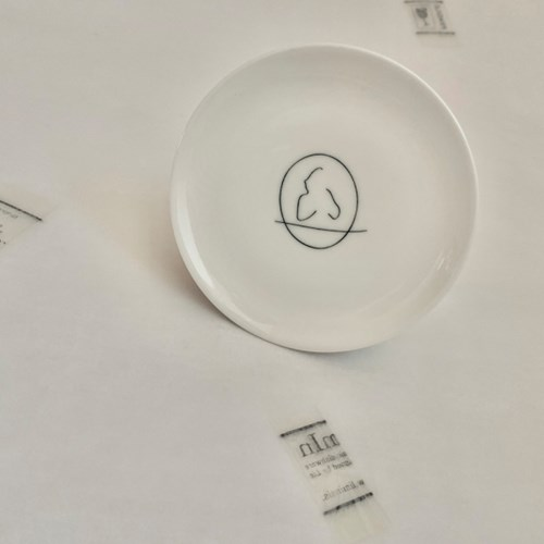 Mama _ light drawing small dish