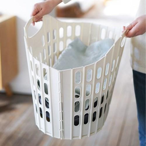 (바스클립) 접이식 세탁 바스켓 - 3color_(2756106)