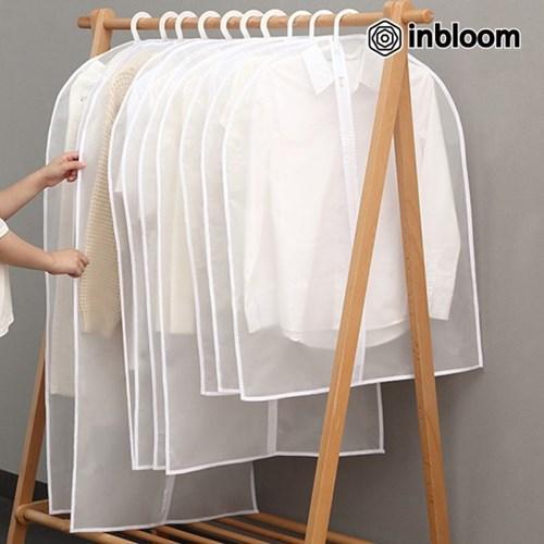 인블룸 베이직 반투명 방수 옷커버 특대형 60x120 5개세_(1975359)