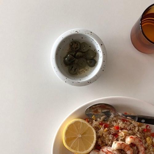 [폴라앳홈] 얼반시리즈 (얼飯) 원형의 찬그릇