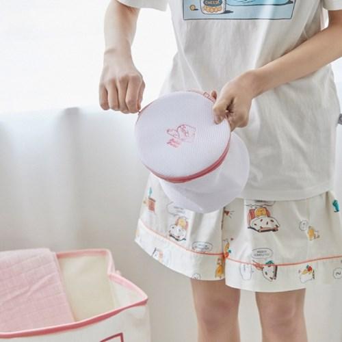 버블버블 세탁망 3p세트 핑크