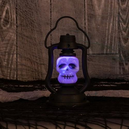 LED 점등 할로윈 양면랜턴 [해골]_(11785532)