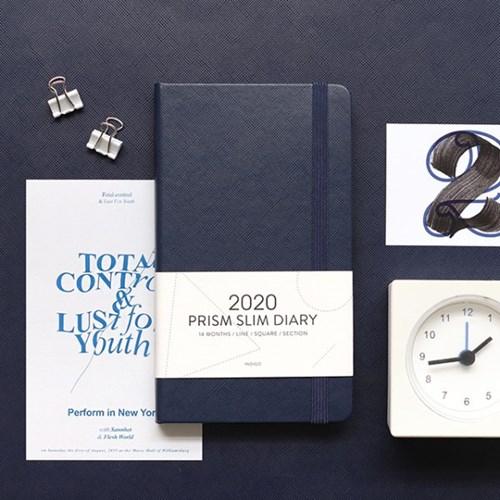 (2020 날짜형) 2020 프리즘 슬림 다이어리_월간/수첩형