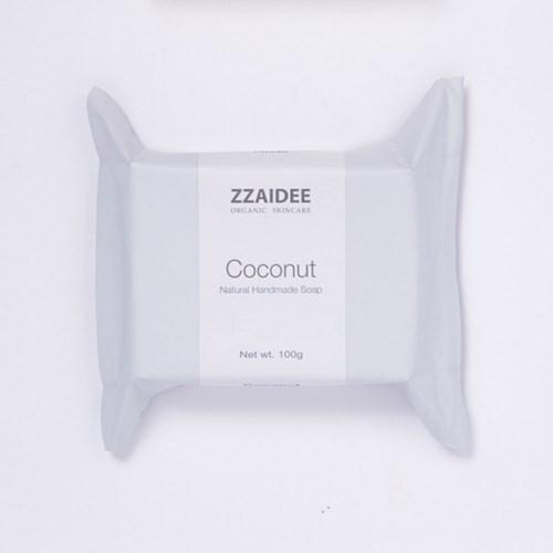짜이디 코코넛 천연수제비누 100g