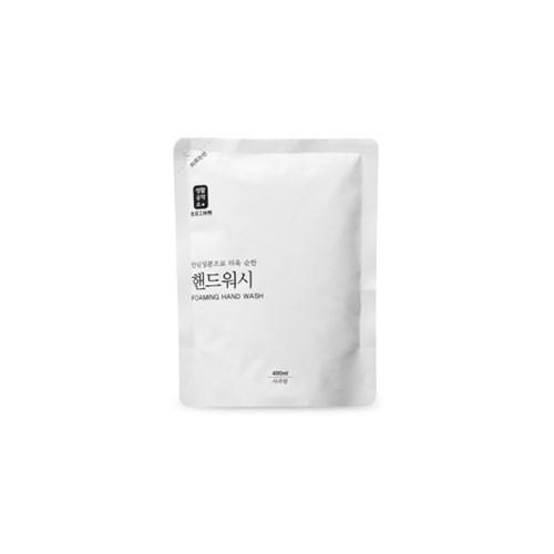 [생활공작소] 핸드워시 용기 500ml 1개 + 리필 400ml 2개
