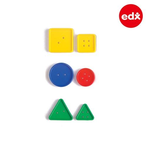 [EDX] 단추 실꿰기 48PCS 케이스세트 (41014C)