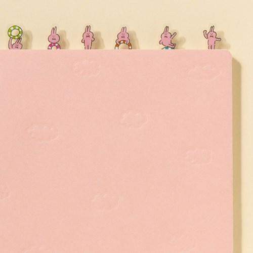 [AIUEO] SCHEDULE POP PICKUP STICKER_UB HOOP