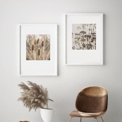 갈대 그림 가을 풍경 사진 인테리어 액자 드라이