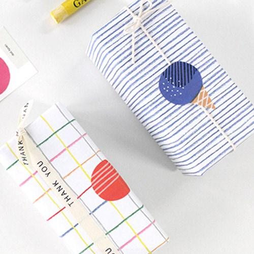 캔디팝 스티커(2장,낱개로 10개)