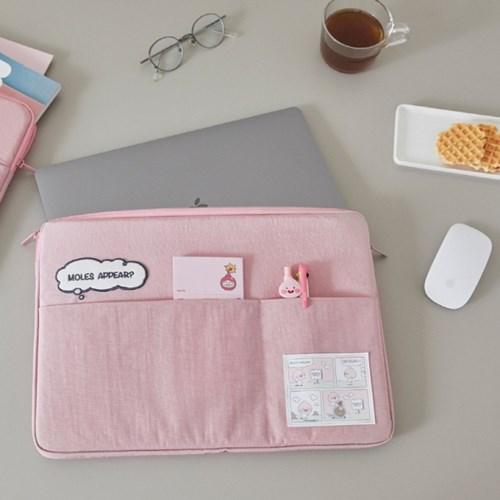 레이지선데이 노트북파우치 15인치_Pink