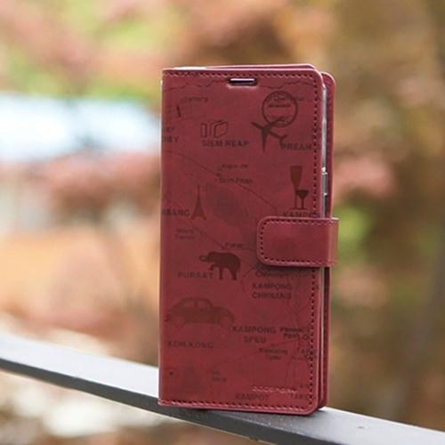 갤럭시노트10 (N971) Rico-TonleSap 지갑 다이어리 케이스
