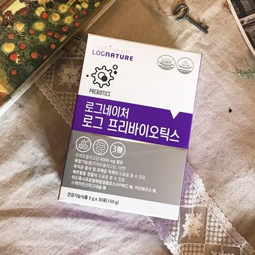[로그네이처] 로그 프리바이오틱스 2박스 60포 (2개월분)
